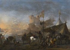 wouwerman philips soldiers and | battle scene | sotheby's l16034lot8ylsxen