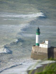 Lighthouse Normandy France #travel #travelphotography #coast