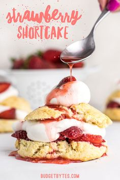 Strawberry Shortcake is a simple yet impressive dessert that requires nothing but some fresh fruit and a few pantry staples. BudgetBytes.com