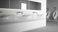 Alloying this natural process of the water erosion and the shape of the bending tube was the main inspiration in my concept.The basin takes the close feeling to nature is a physical and spiritual refreshment in our homes.