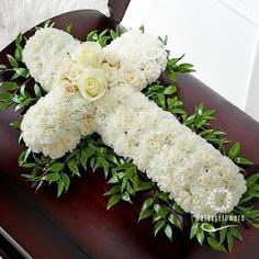 Order The Peaceful Memories™ Casket Spray flower arrangements from All Flowered Up Too, your local Lubbock, TX florist. Send The Peaceful Memories™ Casket Spray floral arrangement throughout Lubbock and surrounding areas. Arrangements Funéraires, Funeral Floral Arrangements, Creative Flower Arrangements, Church Flowers, Funeral Flowers, Send Flowers, Carnation Wedding, Wedding Flowers, Casket Flowers