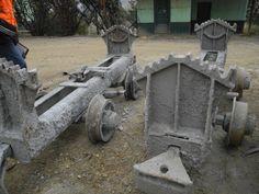 Chasis de carrito minero