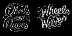 Wheels & Waves event logo