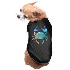 Big Beach Hawaii Blue Crab Dog Clothes Pet Supplies Sleepwear Dog Shirts Screen-Print Puppy Clothes Dog Hoodies >>> Visit the image link more details. (This is an affiliate link and I receive a commission for the sales)