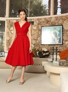 Milan Dress - Red - Heart of Haute