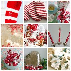 christmas decs collage