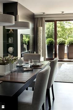 Home Sweet Home., Home, home sweet. Apartment Interior, Living Room Interior, Home Living Room, Home Interior Design, Living Room Decor, Luxury Dining Room, Dining Room Design, Dining Room Inspiration, Home Decor Kitchen