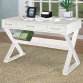 Found it at Wayfair - Bicknell 3 Drawer Writing Desk