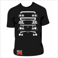 Skyline GT-R Rear Ends T-Shirt by TheStickerFairy on Etsy