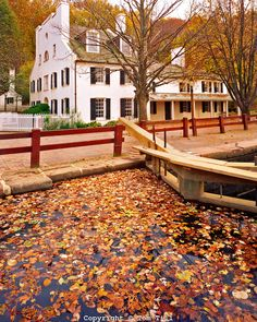 Great Falls Tavern, Chesapeake & Ohio Canal National Historical Park, Along Potomac River, Maryland