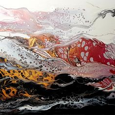 Christine Henderson - Fire Within Main Colors, Colours, South African Art, Fluid Acrylics, Online Art, Oriental, Abstract Art, My Arts, Fire