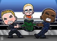 """Boys and da Hood"" Thought we could all use a little levity after last week's and this week's episodes😅 @stephenamell @davidpaulramsey @emilybett @cw_arrow @arrowwriters @arrowprodoffice #arrow #ota..."