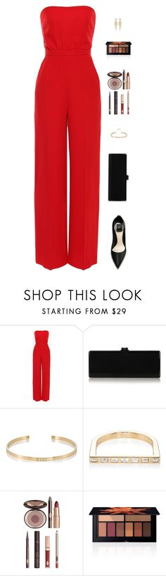 """Sin título #4590"" by mdmsb on Polyvore featuring moda, Valentino, Edie Parker, Ileana Makri, Charlotte Tilbury, Smashbox y Stephen Webster"