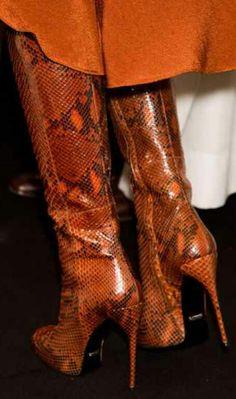 Knee/Thigh High pattern boots Fall/Winter 2013