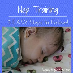 """Mama's Organized Chaos: NAP TRAINING  A common """"mistake"""" that can happen with naps:   Responding too quickly to their cries Babies will wake as they are trying to transition sleep cycles. This is normal. Just because they wake, or even fuss, or cry...doesn't mean that they are done with their nap, however. Many parents rush in and grab their baby. Try to wait 5 minutes before you do this."""