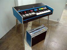 1960's P16 Farfisa organ and Baldwin amp
