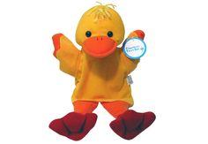 "ANIMAL PUPPET Duck - Plush, 12"""