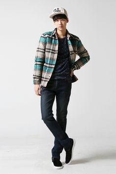 Check padded shirt color