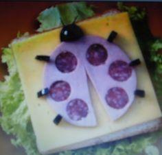 Cute sandwich