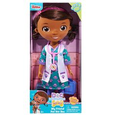 Disney My Friend Pet Vet Doc Doll $11.41 (Reg $19.99) - http://couponingforfreebies.com/disney-friend-pet-vet-doc-doll-11-41-reg-19-99/