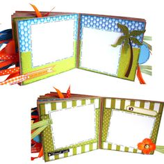 Cruise Vacation Scrapbook  Travel Memories by apicketfencelife, $28.00