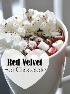 belle in the city: Red Velvet Hot Chocolate