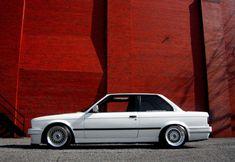 Love the old school BMW's!! #e30