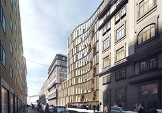 Gallery of 3XN Designs Residential Complex for Downtown Vienna - 3