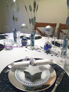 Lorene's Hanukka Table