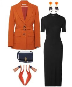 ¡Chicas, guardamos para no perder! Cute Work Outfits, Chic Outfits, Trendy Outfits, Fashion Outfits, Fasion, Office Fashion, Work Fashion, Women's Fashion, October Fashion