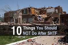 There must be a million articles about the things you should do after the shit hits the fan, but I don't think I've ever seen an article about things NOT to do... until now. I really enjoyed reading this article by Bob from Preppers Will and I'm happy to share it with you guys. The great thing about this article is I can actually see people--myself included--making some of these mistakes. I'm the kind of person who is often reluctant to ask for help. So if something were to go...