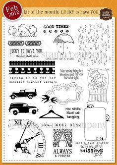 february 2012 unity stamp company kit of the month - artistas: joslyn nielson. jenny suchin.  tracey malnofski