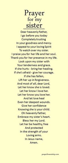 For my sister's <3