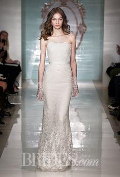 Reem Acra Wedding Dresses - Spring 2015 - Bridal Runway Shows - Brides.com | Brides.com