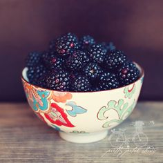 Food Photography, Still Life Print, Blackberries in a Boho Bowl, Purple, Cream, Summer Fruit, Yummy, Kitchen Art, Foodie, Square 8x8 Print on Etsy, $33.29 AUD