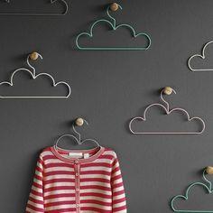 nursery closet baby clothes hangers