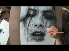 Hyperrealistic Portrait | Pencil Drawing Time-lapse - YouTube