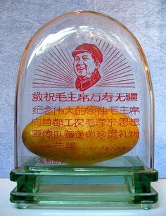 Chairman Mao's wonderful gift - fresh mangoes from Pakistan, 1968