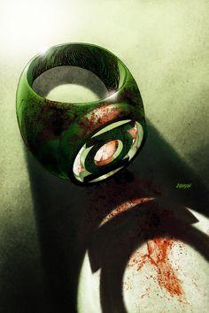 War of the Green Lanterns: Aftermath #1//Dave Johnson/I - J/ Comic Art Community GALLERY OF COMIC ART