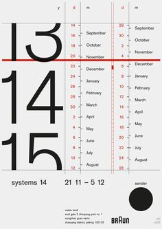 NoRabbitsNoHats - Calendar #typography #Design Web Design, Book Design, Layout Design, Graph Design, Print Design, Graphic Design Posters, Graphic Design Inspiration, Graphic Designers, Type Posters