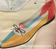 Resultado de imagen de Sixties shoes