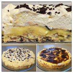 Kakebua's blogg: Islandskake Pudding Desserts, No Bake Desserts, Norwegian Food, Dessert Drinks, Something Sweet, Let Them Eat Cake, Yummy Cakes, Cake Cookies, Chocolate Recipes