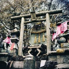 A sacred stone.  Une pierre sacrée. #FushimiInari #伏見 #Kyoto #京都  #Japan #Japon #Japão #Japón #Giappone #Jepang #Jepun #Japonia #Japonya #Япония #일본 #Japanese