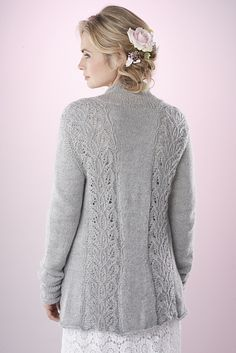 Ravelry: Hestercombe cardigan pattern by Ashley Knowlton Knitting Designs, Knitting Patterns Free, Knit Patterns, Knit Or Crochet, Lace Knitting, Jumpers For Women, Cardigans For Women, Ladies Jumpers, Cardigan Pattern