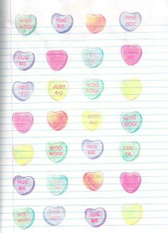 Say it all #candyhearts
