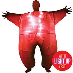 Red Light Up MegaMorph Inflatable Costumes Adult Halloween Fancy Dress Funny Scary Tag someone who should wear this! Christmas Fancy Dress, Halloween Fancy Dress, Adult Halloween, Halloween Christmas, Scary Costumes, Funny Halloween Costumes, Adult Costumes, Happy Halloween Pictures, Party Inflatables