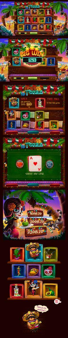 Fiesta Tequila Game on Behance
