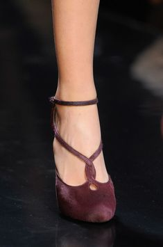 Valentine to Feet (Ermanno Scervino Fall 2013)