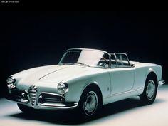 Alfa Romeo Giulietta Spider, 1955.