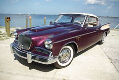 Joe Parsons restored his award-winning 1958 Studebaker Hawk using all original factory parts he collected himself from the Studebaker factory in 1966.